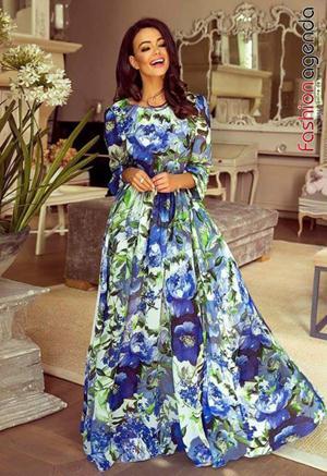 Rochie de Ocazie Allure 09 Blue Print