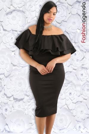 Rochie XXL Desire 128 Neagra