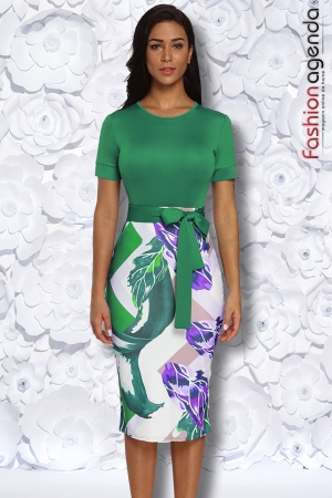 Rochie Office Marty Verde
