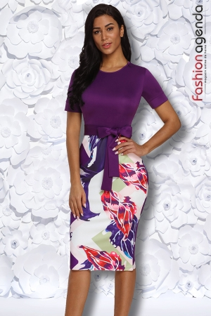 Rochie Office Marty Violet