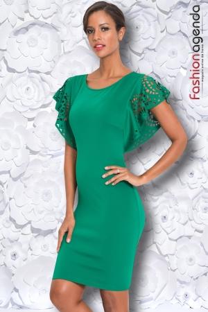 Rochie Fortuna Verde