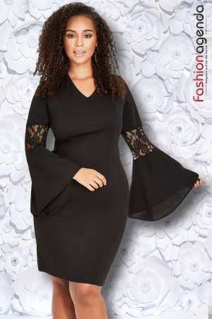 Rochie Xxl Desire 137 Neagra