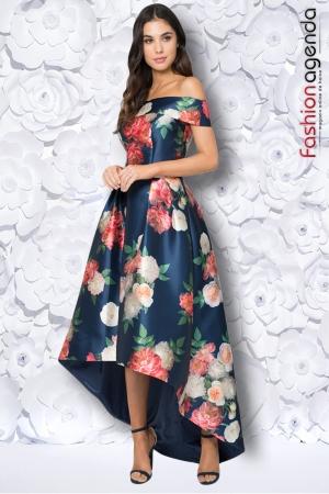 Rochie Asimetrica Flora 01