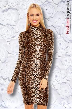 Rochie Gemma Leopard