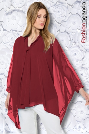 Bluza XXL Layer Bordo