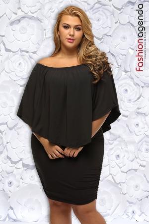 Rochie XXL Desire 154 Neagra