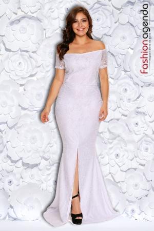 Rochie XXL Desire 155 Alba