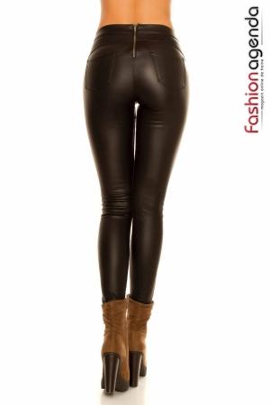 Pantaloni Ceruiti Zips