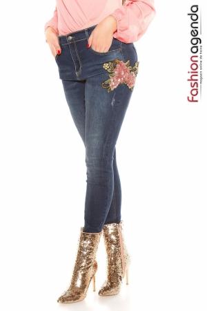Jeans XXL Sequins