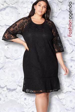 Rochie XXL Desire 157 Neagra