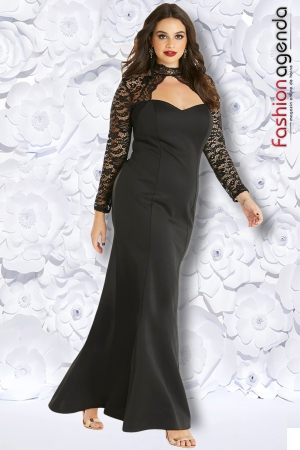 fashionagenda.ro Rochie XXL Desire 158 Neagra