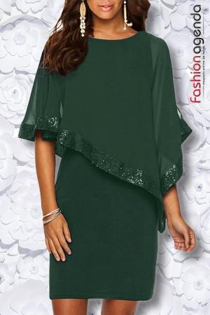 Rochie Ovienda Verde