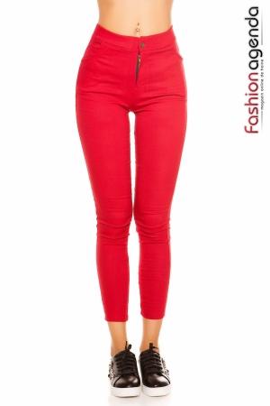 Pantaloni Julliard Rosii