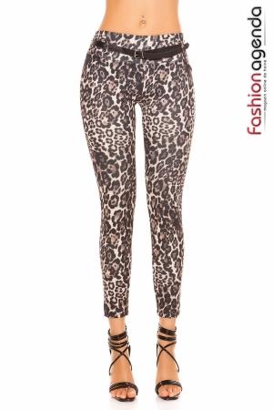 Pantaloni Aspen Leopard