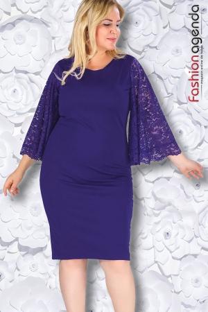 fashionagenda.ro Rochie XXL Desire 163 Violet