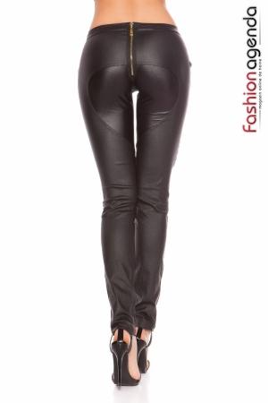 Pantaloni din Piele Leon