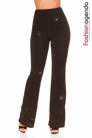 Pantaloni Eleganti Collins Negri