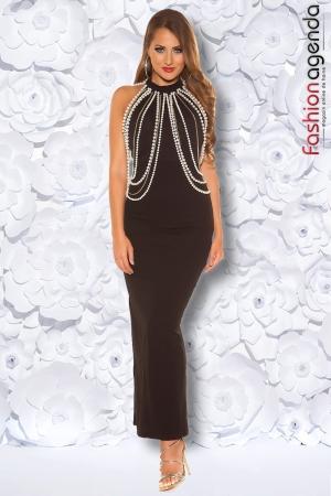 Rochie Eleganta Chains Neagra