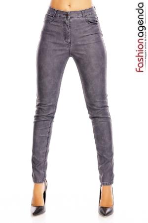 Pantaloni din Piele Louis Blue