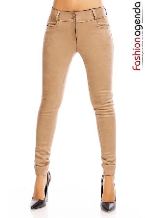 Pantaloni Lovie Bej
