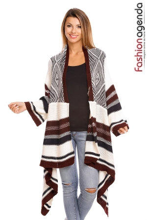 fashionagenda.ro Cardigan Flashy Vivid