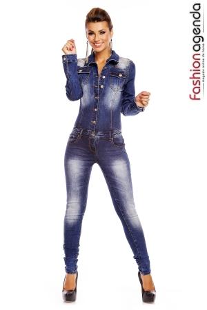 Salopeta din Jeans Premiere 01