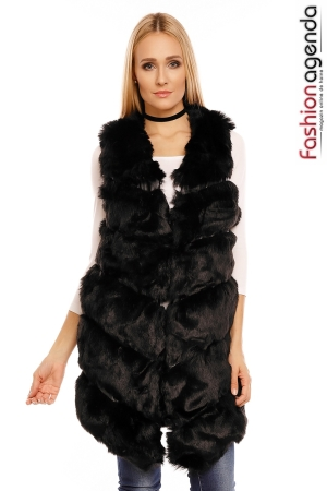 Vesta Black Fur
