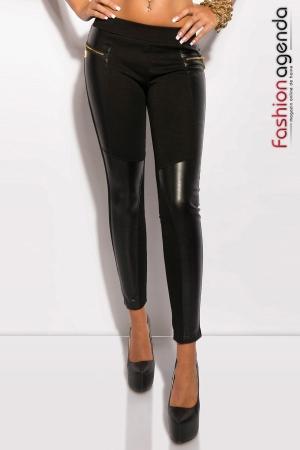 Pantaloni Monique Negri