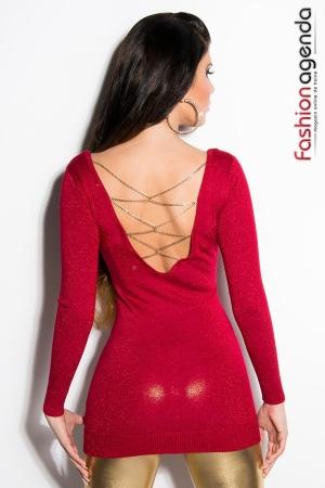 Pulover Mistykal Red