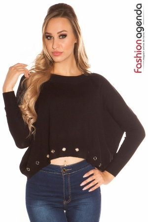 Pulover Roxana Black