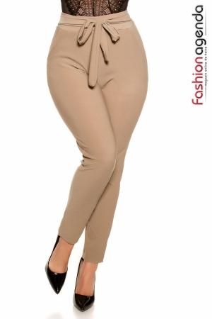 Pantaloni XXL Jackie Bej