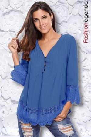 Bluza Penelope Albastra