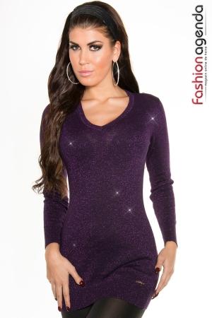 Pulover Sparkle Violet