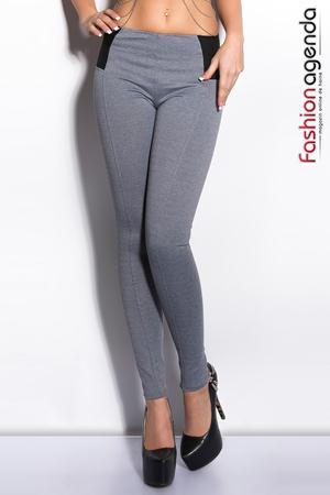 Pantaloni Kim Gri