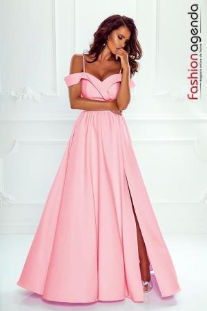 fashionagenda.ro Rochie de Ocazie Allure 04 Baby Pink