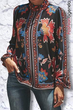 Bluza Phyllis Floral