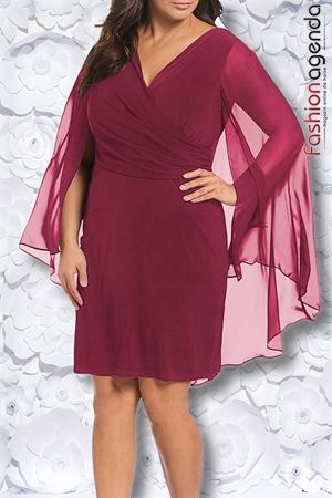 fashionagenda.ro Rochie XXL Desire 179 Vivid