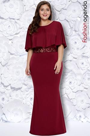 Rochie XXL Desire 180 Bordo