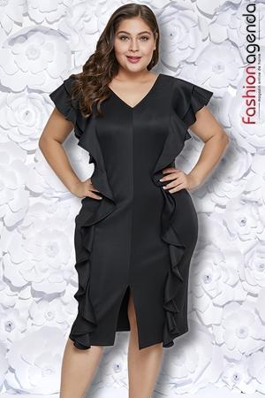 fashionagenda.ro Rochie XXL Desire 182 Neagra