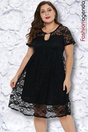 Rochie XXL Desire 178 Neagra