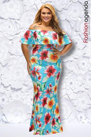 Rochie XXL Desire 194 Mint