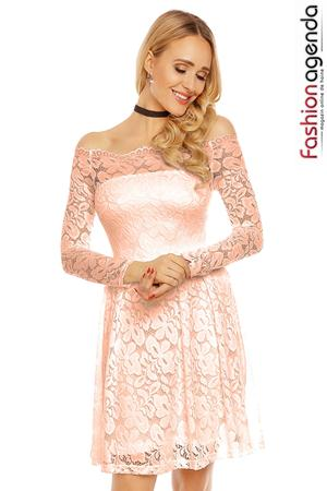 Rochie Heavenly Lace Somon