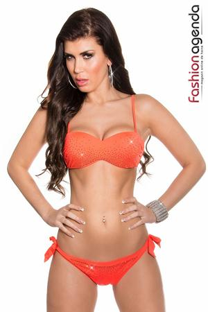 Costum de Baie Neptune 69 Orange