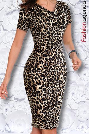 Rochie Almeria 11 Leopard