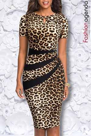 Rochie Almeria 22 Leopard