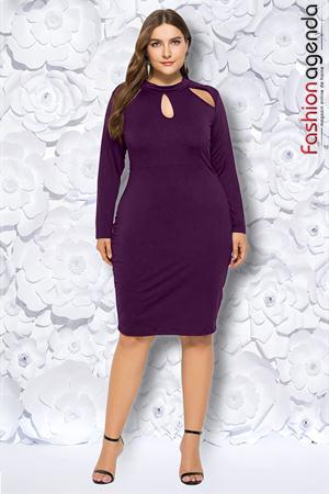 Rochie XXL Desire 196 Violet