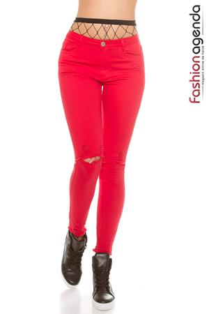 fashionagenda.ro Jeans Absolom 29 Red