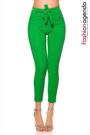Pantaloni Casual Vermont Green