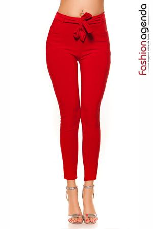 Pantaloni Casual Vermont Red