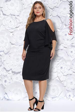 Rochie XXL Desire 219 Neagra